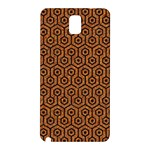 HEXAGON1 BLACK MARBLE & RUSTED METAL Samsung Galaxy Note 3 N9005 Hardshell Back Case Front