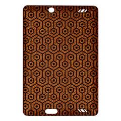 Hexagon1 Black Marble & Rusted Metal Amazon Kindle Fire Hd (2013) Hardshell Case