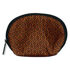 Hexagon1 Black Marble & Rusted Metal Accessory Pouches (medium)