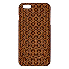 Hexagon1 Black Marble & Rusted Metal Iphone 6 Plus/6s Plus Tpu Case