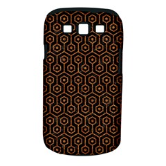 Hexagon1 Black Marble & Rusted Metal (r) Samsung Galaxy S Iii Classic Hardshell Case (pc+silicone)