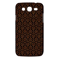 Hexagon1 Black Marble & Rusted Metal (r) Samsung Galaxy Mega 5 8 I9152 Hardshell Case