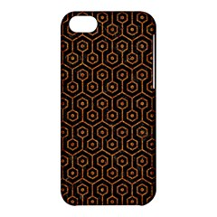 Hexagon1 Black Marble & Rusted Metal (r) Apple Iphone 5c Hardshell Case