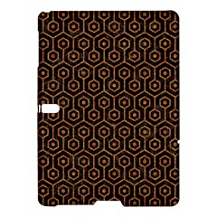 Hexagon1 Black Marble & Rusted Metal (r) Samsung Galaxy Tab S (10 5 ) Hardshell Case