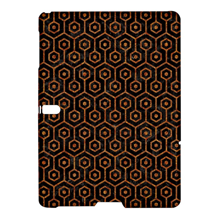 HEXAGON1 BLACK MARBLE & RUSTED METAL (R) Samsung Galaxy Tab S (10.5 ) Hardshell Case
