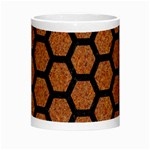 HEXAGON2 BLACK MARBLE & RUSTED METAL Morph Mugs Center