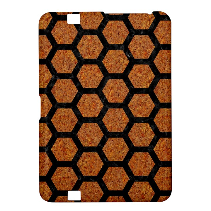 HEXAGON2 BLACK MARBLE & RUSTED METAL Kindle Fire HD 8.9