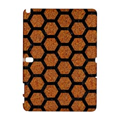 Hexagon2 Black Marble & Rusted Metal Galaxy Note 1