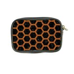 HEXAGON2 BLACK MARBLE & RUSTED METAL (R) Coin Purse Back