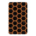 HEXAGON2 BLACK MARBLE & RUSTED METAL (R) Memory Card Reader Front