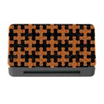 PUZZLE1 BLACK MARBLE & RUSTED METAL Memory Card Reader with CF Front