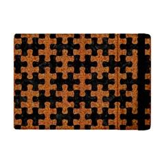 Puzzle1 Black Marble & Rusted Metal Apple Ipad Mini Flip Case