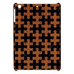 Puzzle1 Black Marble & Rusted Metal Apple Ipad Mini Hardshell Case