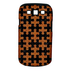 Puzzle1 Black Marble & Rusted Metal Samsung Galaxy S Iii Classic Hardshell Case (pc+silicone)