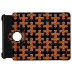 PUZZLE1 BLACK MARBLE & RUSTED METAL Kindle Fire HD 7  Front