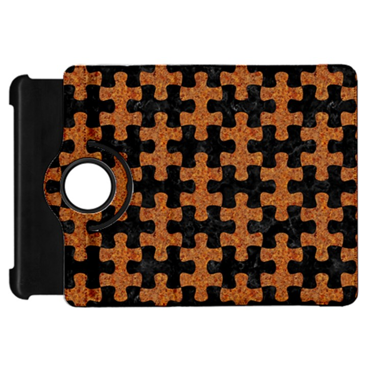 PUZZLE1 BLACK MARBLE & RUSTED METAL Kindle Fire HD 7
