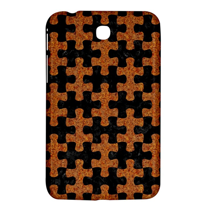 PUZZLE1 BLACK MARBLE & RUSTED METAL Samsung Galaxy Tab 3 (7 ) P3200 Hardshell Case