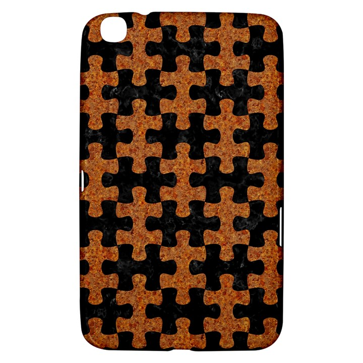 PUZZLE1 BLACK MARBLE & RUSTED METAL Samsung Galaxy Tab 3 (8 ) T3100 Hardshell Case
