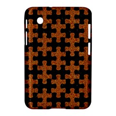 Puzzle1 Black Marble & Rusted Metal Samsung Galaxy Tab 2 (7 ) P3100 Hardshell Case