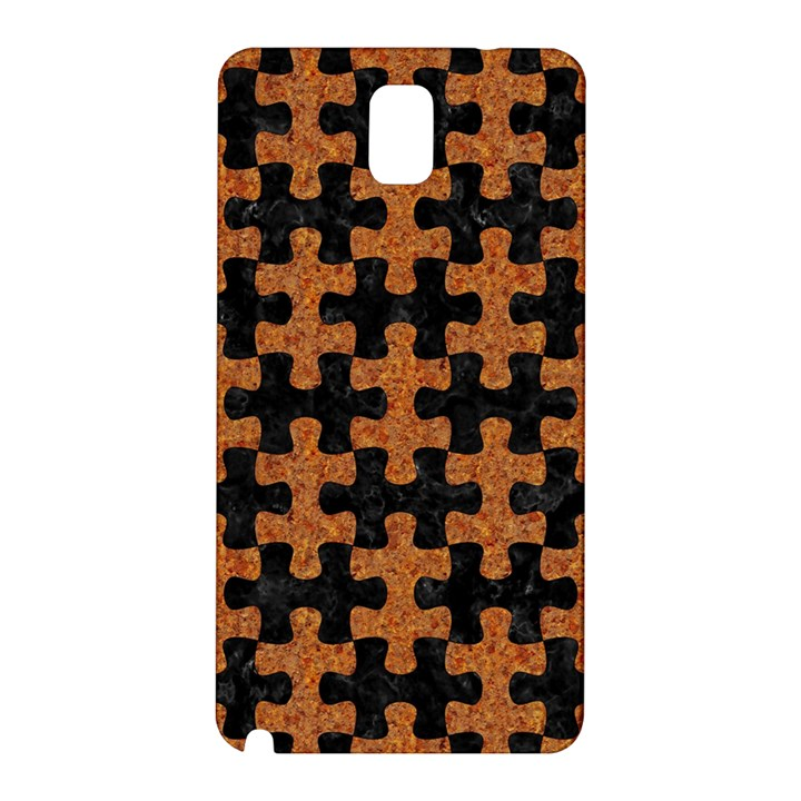 PUZZLE1 BLACK MARBLE & RUSTED METAL Samsung Galaxy Note 3 N9005 Hardshell Back Case