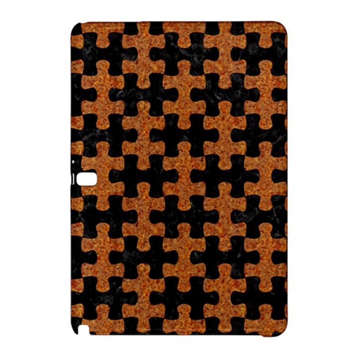 PUZZLE1 BLACK MARBLE & RUSTED METAL Samsung Galaxy Tab Pro 12.2 Hardshell Case