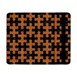 PUZZLE1 BLACK MARBLE & RUSTED METAL Samsung Galaxy Tab Pro 8.4  Flip Case Front