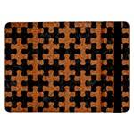 PUZZLE1 BLACK MARBLE & RUSTED METAL Samsung Galaxy Tab Pro 12.2  Flip Case Front