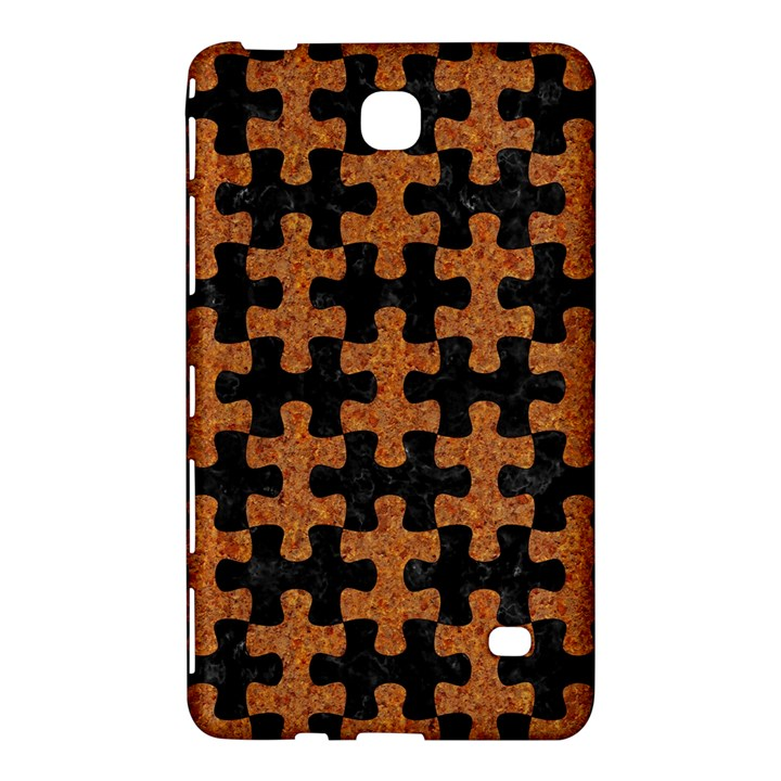 PUZZLE1 BLACK MARBLE & RUSTED METAL Samsung Galaxy Tab 4 (8 ) Hardshell Case