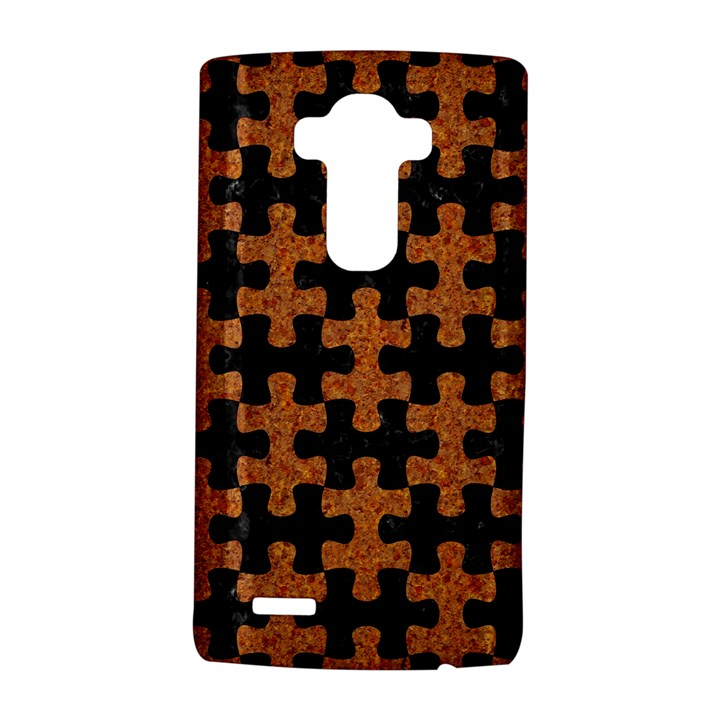 PUZZLE1 BLACK MARBLE & RUSTED METAL LG G4 Hardshell Case