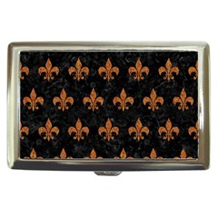 Royal1 Black Marble & Rusted Metal Cigarette Money Cases