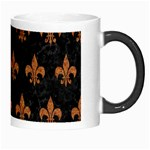 ROYAL1 BLACK MARBLE & RUSTED METAL Morph Mugs Right
