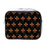 ROYAL1 BLACK MARBLE & RUSTED METAL Mini Toiletries Bags Front