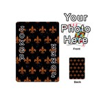 ROYAL1 BLACK MARBLE & RUSTED METAL Playing Cards 54 (Mini)  Front - Joker1