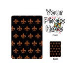 ROYAL1 BLACK MARBLE & RUSTED METAL Playing Cards 54 (Mini)  Back