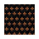 ROYAL1 BLACK MARBLE & RUSTED METAL Acrylic Tangram Puzzle (6  x 6 ) Front
