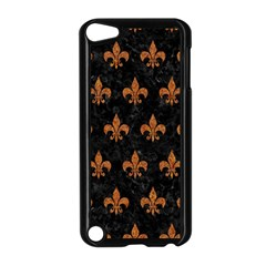 Royal1 Black Marble & Rusted Metal Apple Ipod Touch 5 Case (black)
