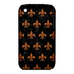 Royal1 Black Marble & Rusted Metal Iphone 3s/3gs