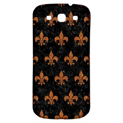 Royal1 Black Marble & Rusted Metal Samsung Galaxy S3 S Iii Classic Hardshell Back Case