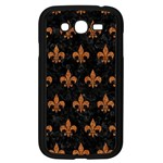 ROYAL1 BLACK MARBLE & RUSTED METAL Samsung Galaxy Grand DUOS I9082 Case (Black) Front