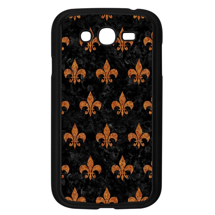 ROYAL1 BLACK MARBLE & RUSTED METAL Samsung Galaxy Grand DUOS I9082 Case (Black)