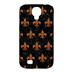Royal1 Black Marble & Rusted Metal Samsung Galaxy S4 Classic Hardshell Case (pc+silicone)