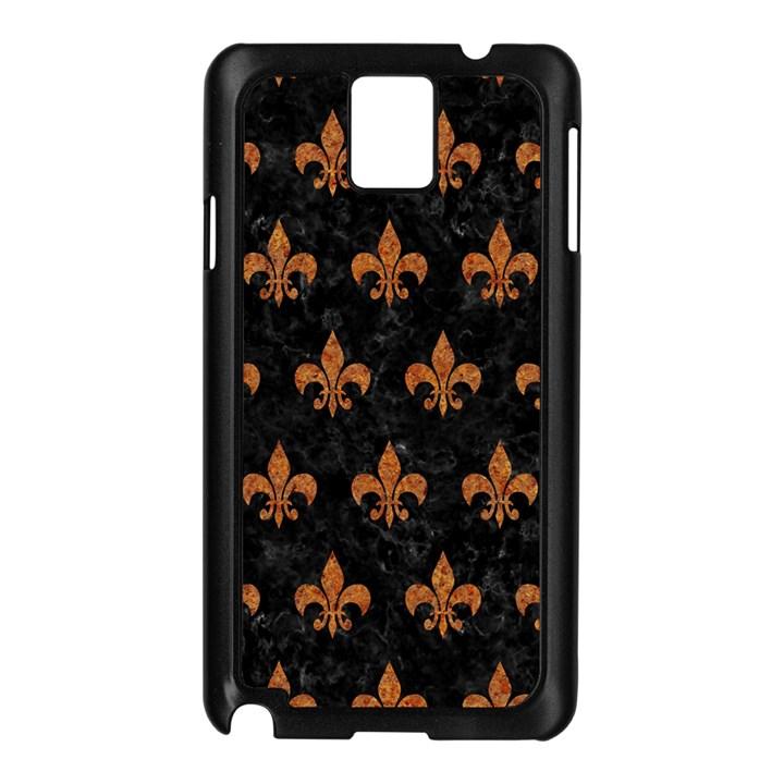 ROYAL1 BLACK MARBLE & RUSTED METAL Samsung Galaxy Note 3 N9005 Case (Black)
