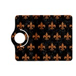 ROYAL1 BLACK MARBLE & RUSTED METAL Kindle Fire HD (2013) Flip 360 Case Front