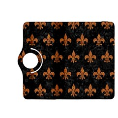 Royal1 Black Marble & Rusted Metal Kindle Fire Hdx 8 9  Flip 360 Case