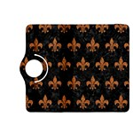 ROYAL1 BLACK MARBLE & RUSTED METAL Kindle Fire HDX 8.9  Flip 360 Case Front