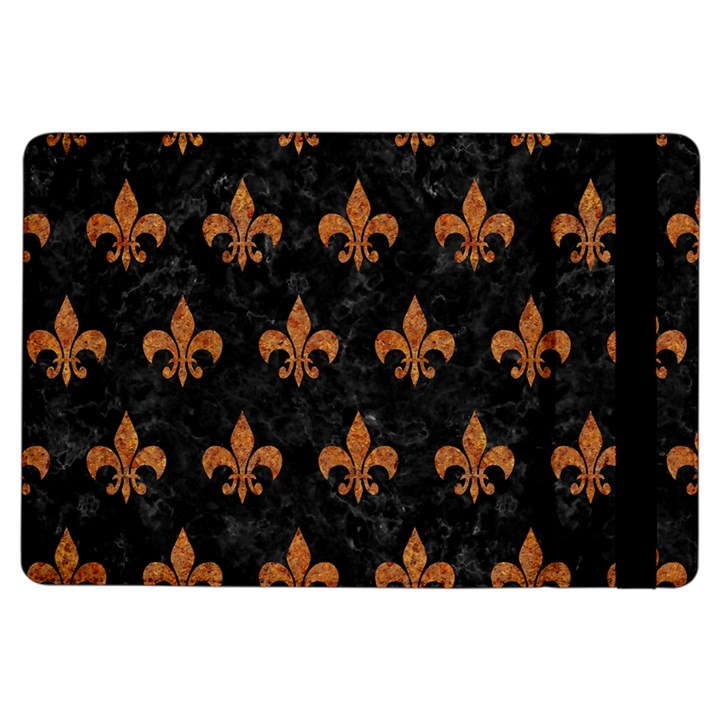 ROYAL1 BLACK MARBLE & RUSTED METAL iPad Air Flip