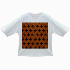Royal1 Black Marble & Rusted Metal (r) Infant/toddler T Shirts