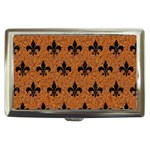 ROYAL1 BLACK MARBLE & RUSTED METAL (R) Cigarette Money Cases Front