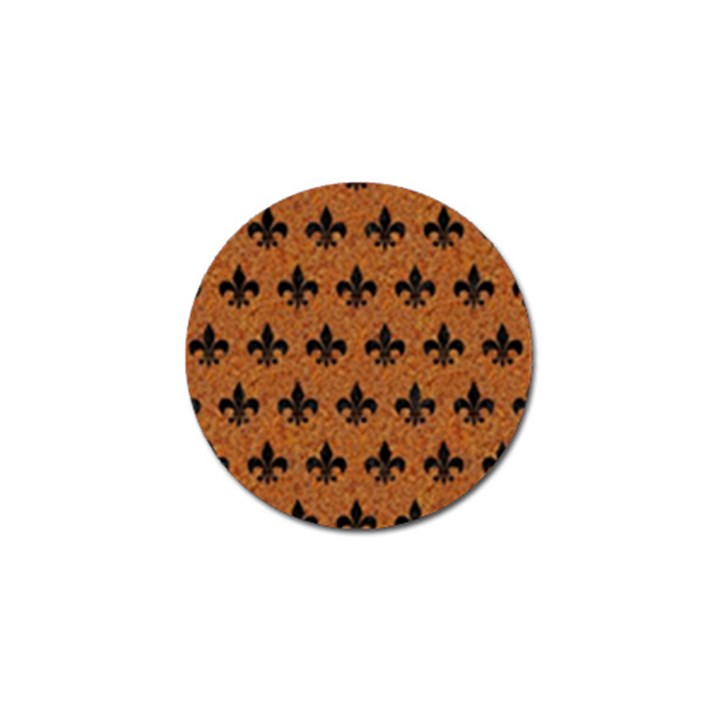 ROYAL1 BLACK MARBLE & RUSTED METAL (R) Golf Ball Marker (4 pack)