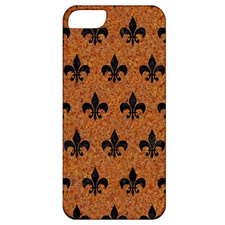 ROYAL1 BLACK MARBLE & RUSTED METAL (R) Apple iPhone 5 Classic Hardshell Case